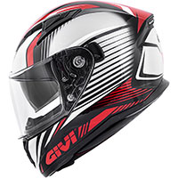 Givi 50.6 Stoccarda Helmet Red Black