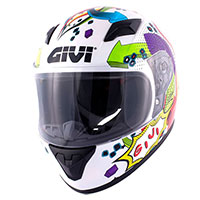 Givi Junior 4 Kid Helmet White Kinder