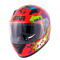 Givi Junior 4 Kid Helmet Red Kinder