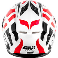 Givi 50.6 Stoccarda Perseus Helmet Red