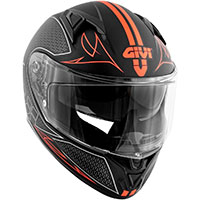 Givi 50.6 Stoccarda Splinter Helmet Red