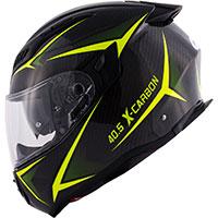 Givi 40.5 Xカーボンヘルメット ブラック イエロー