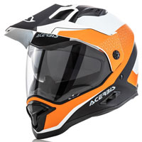 Acerbis Reactive Graffix White Orange