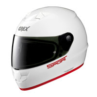 Grex G6.1 K-sport Bianco-rosso Lucido