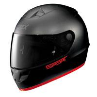 Grex G6.1 K-sport Nero-rosso Opaco
