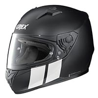 Grex G6.1 Stripes Full Face Helmet Black White