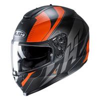 Full Face Helmet Hjc C70 Boltas Orange
