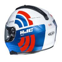 Casco Hjc C70 Curves Blu Arancio
