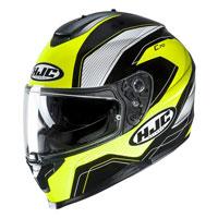 Full Face Helmet Hjc C70 Lianto Yellow