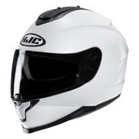 Full Face Helmet Hjc C70 Solid White