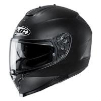 Full Face Helmet Hjc C70 Solid Matt Black