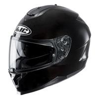 Full Face Helmet Hjc C70 Solid Black