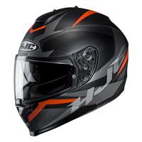Full Face Helmet Hjc C70 Troky Orange