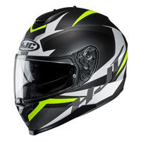 Full Face Helmet Hjc C70 Troky Yellow