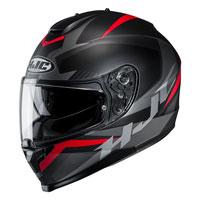 Full Face Helmet Hjc C70 Troky Red