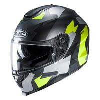 Full Face Helmet Hjc C70 Valon Yellow