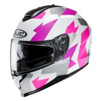 Full Face Helmet Hjc C70 Valon Pink