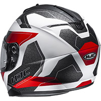 Hjc C70 Canex Helmet White Red