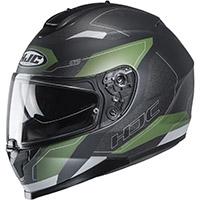 Hjc C70 Canex Helmet Green Black