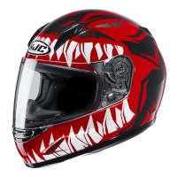 Hjc Cl Y Zuky Youth Helmet Red Kid