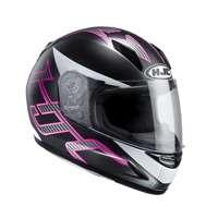Hjc Cl-y Goli Mc8sf Lady Helmet Black Purple