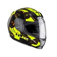 Hjc Cl-y Simitic Mc4h Kid Helmet Black Red Yellow Kid