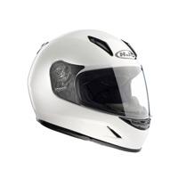 Hjc Cl-y Solid Kid Helmet White Kid