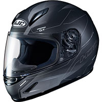 Hjc Cl Y Taze Youth Helmet Black Grey Kid