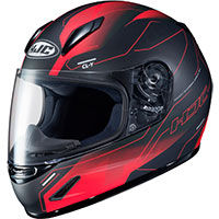 Hjc Cl Y Taze Youth Helmet Black Red Kid