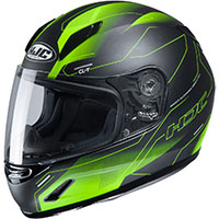 Hjc Cl Y Taze Youth Helmet Black Green Kid