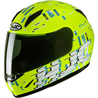 Hjc Cl Y Garam Youth Helmet Yellow Kid