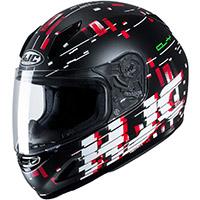 Hjc Cl Y Garam Youth Helmet Black Red Kid