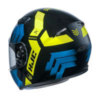 Casco Hjc Cs-15 Martial Blu Giallo