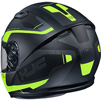 Hjc Cs-15 Dosta Helmet Black Yellow