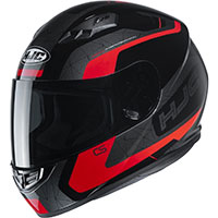 Hjc Cs-15 Dosta Helmet Black Red