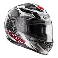 Hjc Cs-15 Rafu Mc1 Helmet Red White Black