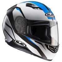 Hjc Cs-15 Sebka Mc2 Helmet White Blue