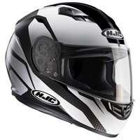 Hjc Cs-15 Sebka Mc5 Helmet White Black