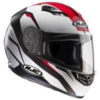 Hjc Cs-15 Sebka Mc1 Helmet White Red