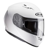 Hjc Cs-15 Solid Helmet White