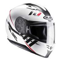 Hjc Cs-15 Space Mc10sf Helmet Red Black White