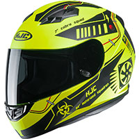 Hjc Cs-15 Tarex Helmet Yellow