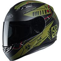 Hjc Cs-15 Tarex Helmet Green