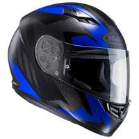 Hjc Cs-15 Treague Mc2sf Blu Nero