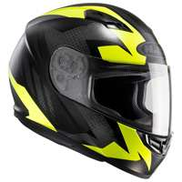 Hjc Cs-15 Treague Mc4hsf Giallo Nero