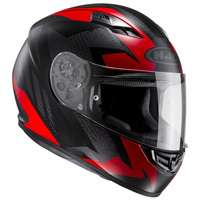 Hjc Cs-15 Treague Mc1sf Rosso Nero