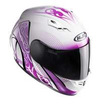 Hjc Cs-15 Valenta Mc8 Helmet Pink White - 2