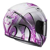 Hjc Cs-15 Valenta Mc8 Helmet Pink White - 3