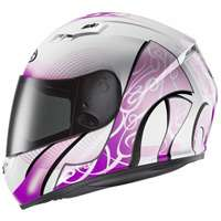 Hjc Cs-15 Valenta Mc8 Helmet Pink White - 4