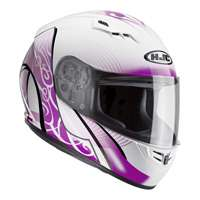 Hjc Cs-15 Valenta Mc8 Helmet Pink White